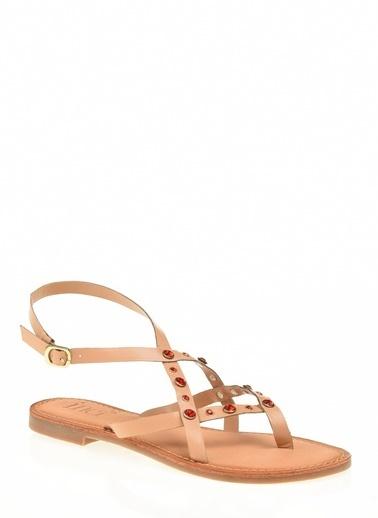 İnci Sandalet Oranj